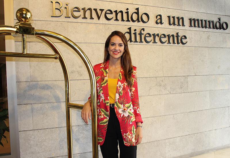 """Mar Almagro Soto, directora del Hotel Ilunion Málaga: """"Es un hotel con 'todos incluidos' y el único de Málaga con accesibilidad universal"""""""