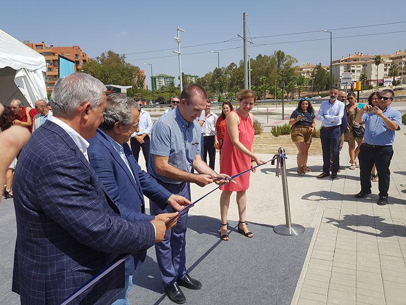 Apertura del vial de interconexión entre los campus de Teatinos