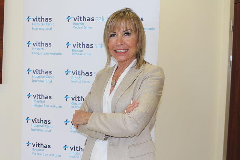 """Mercedes Mengíbar, directora de Zona Costa del Sol de Grupo Vithas: """"Solo 15 hospitales en España poseen la acreditación JCI, y tres de ellos son Vithas"""""""