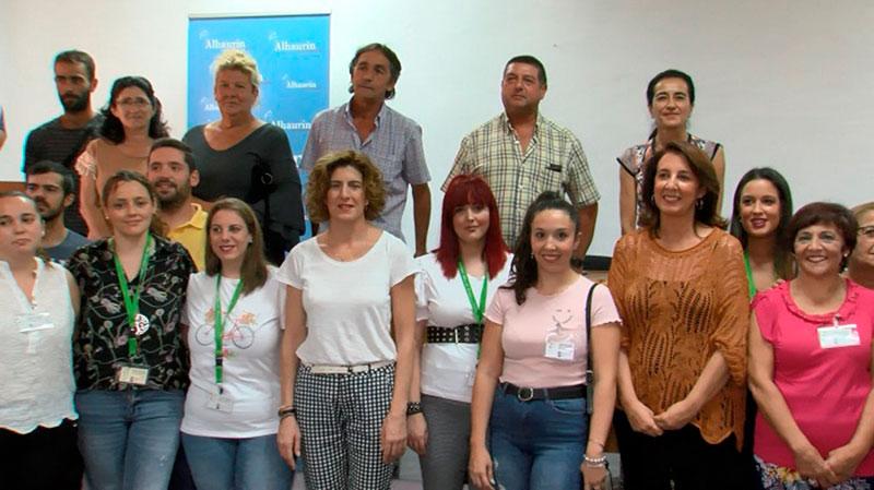 Un total de 46 personas de los planes Emplea comienzan a trabajar en el Ayuntamiento de Alhaurín el Grande
