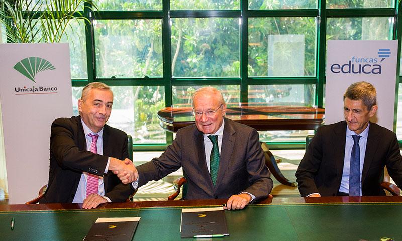 Unicaja Banco vuelve a colaborar con Funcas para impulsar la educación financiera