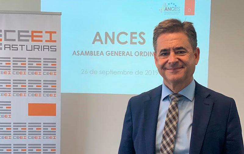 El director de Bic Euronova, Álvaro Simón, es reelegido presidente de ANCES