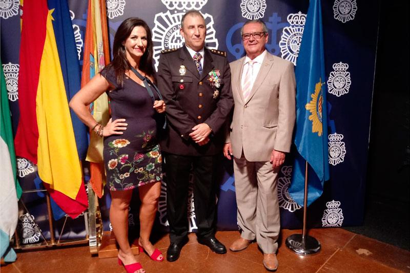 ACET asiste al día patronal de la Policía Nacional