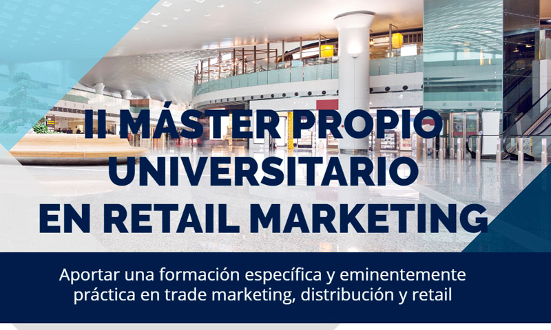 ACET colabora en el Máster en Retail Marketing