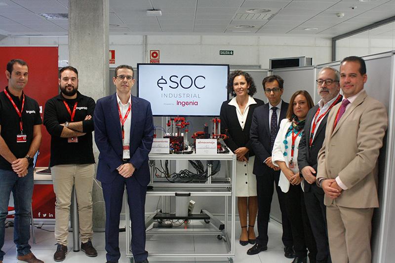Ingenia presenta su innovador Centro de Operaciones de Seguridad Industrial