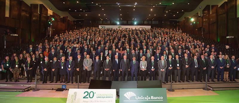 Unicaja Banco celebra su vigésima Convención