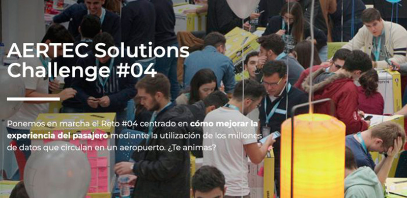 Transformar la experiencia de los pasajeros utilizando los datos que generan los aeropuertos: este es el nuevo  reto de AERTEC Solutions Challenge dirigido a los universitarios de Andalucía.