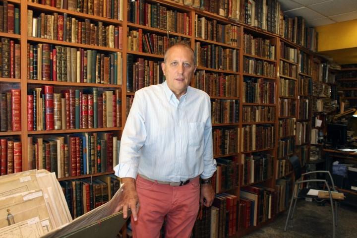 Entrevista a Antonio Mateos Osorio, propietario de Librería Anticuaria Antonio Mateos