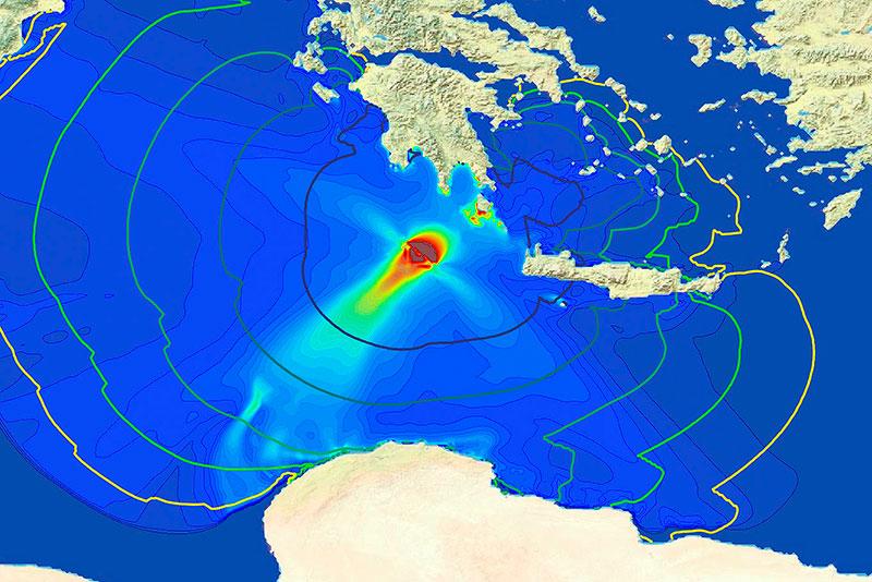 La UMA lidera el servicio de tsunamis del Centro de Coordinación de Respuesta ante Emergencias de Europa
