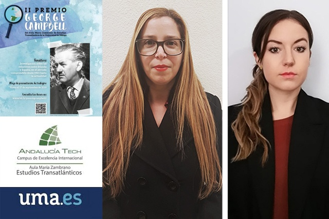 Lorena Arce y Miriam Seghiri, ganadoras del Premio Georges Campbell de la UMA