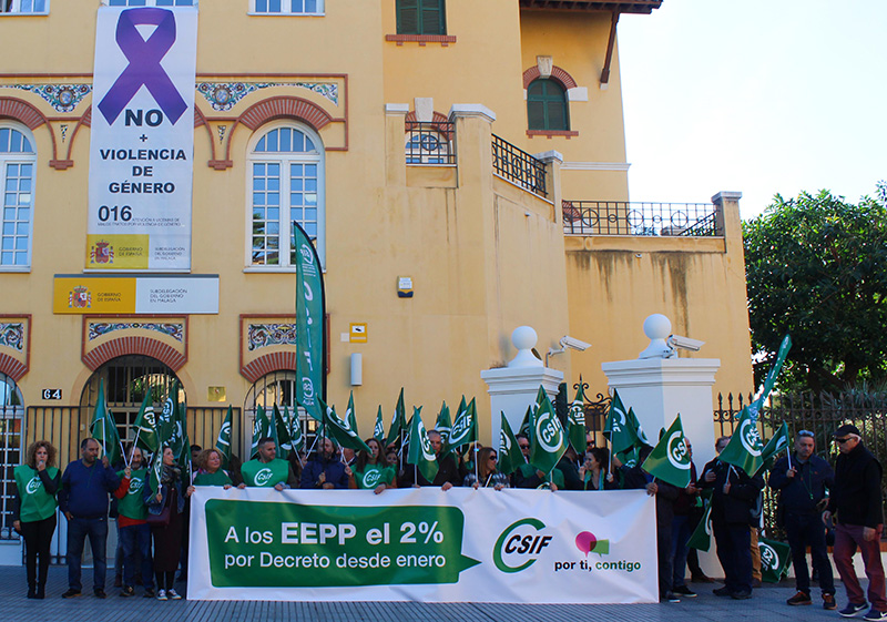 CSIF exige al Gobierno que aplique la subida salarial pactada a los empleados públicos en enero