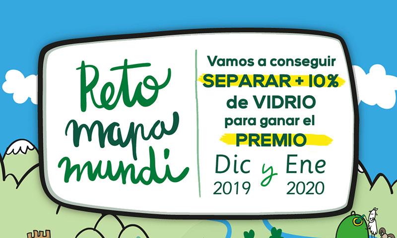 """El Ayuntamiento de Alhaurín el Grande impulsa el reciclaje de envases de vidrio con el """"Reto Mapamundi"""""""
