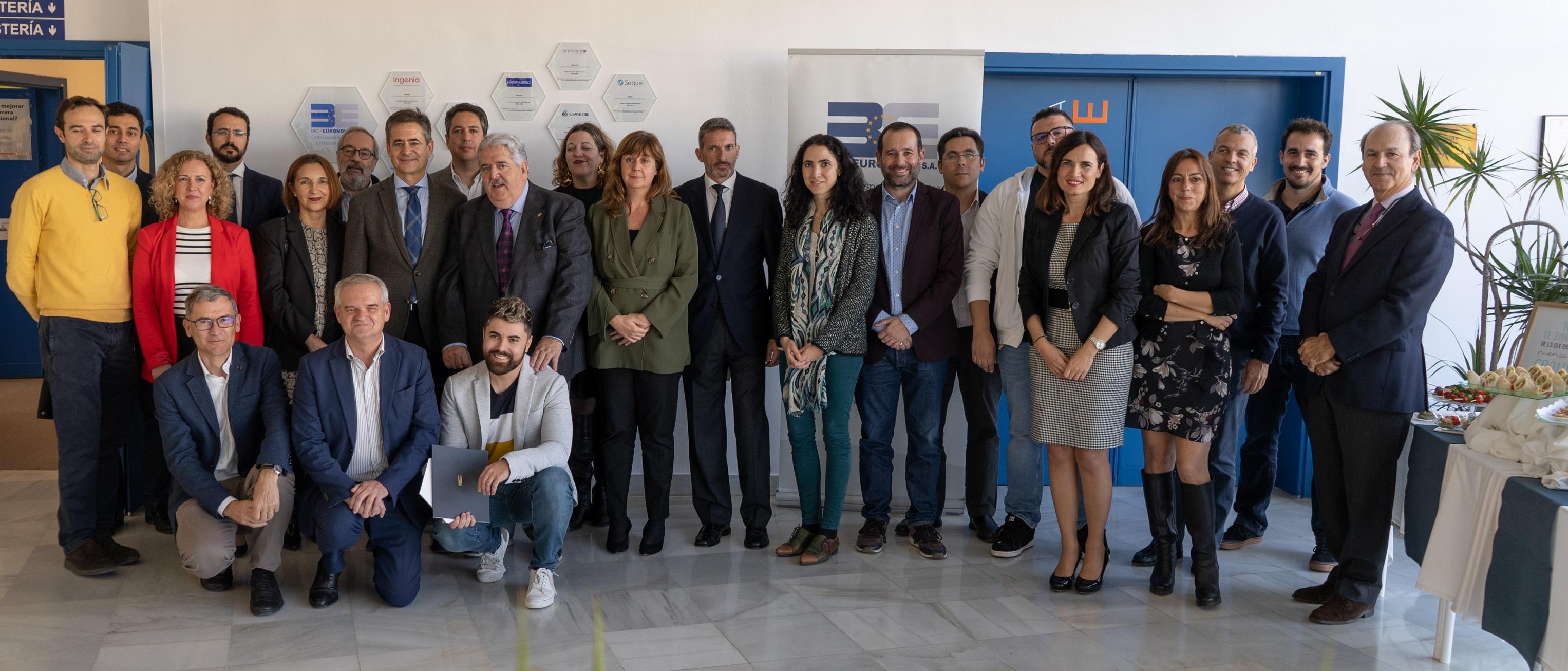 BIC Euronova rinde homenaje a empresas malagueñas de éxito con trayectoria internacional que han estado alojadas en su centro