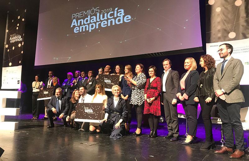 'Kaiju Entertainment' y 'La Salmoreteca' ganan los 'Premios Andalucía Emprende' por su alto componente innovador