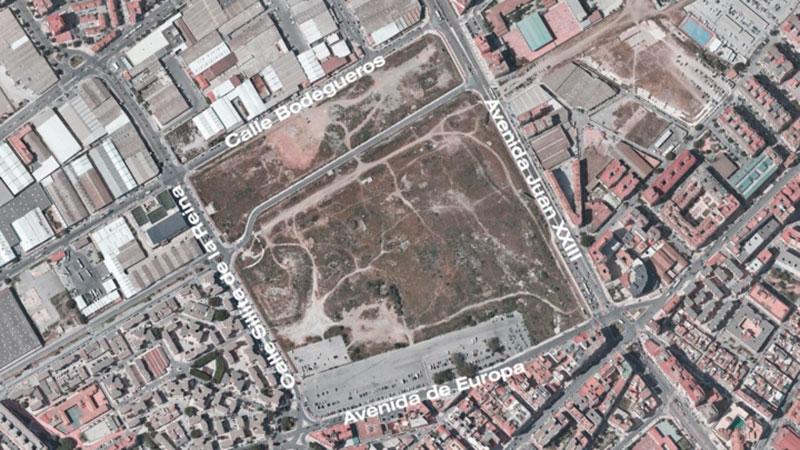 El gran parque Repsol sumará 128.459 metros cuadrados de zonas verdes y urbanización e incluirá un lago