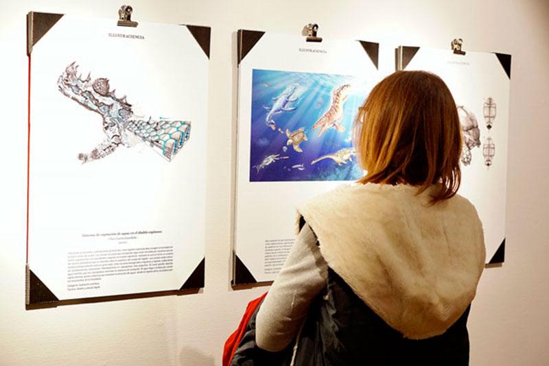Una exposición describe a lo largo de 40 obras el arte de ilustrar la ciencia