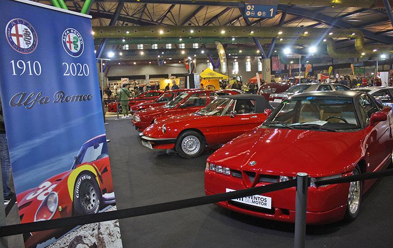 El Salón Retro Málaga celebró su 7ª edición de vehículos clásicos