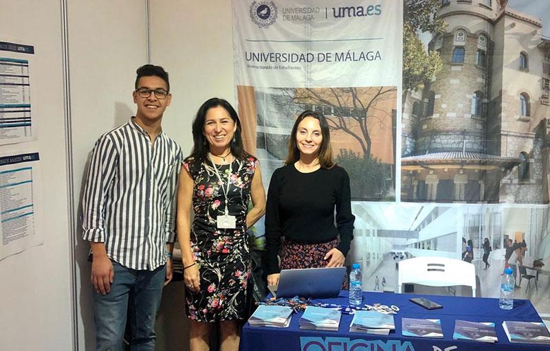 "La UMA participa en Marruecos en la IV Feria ""Estudiar en España"""