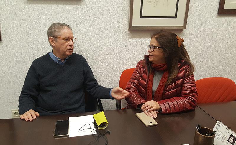 Antonia Bethancourt y Carlos Pérez Ariza, dos venezolanos en Málaga