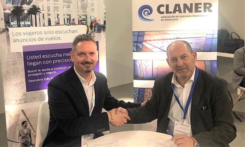 Bosch se incorpora a la Asociación de Energías Renovables de Andalucía