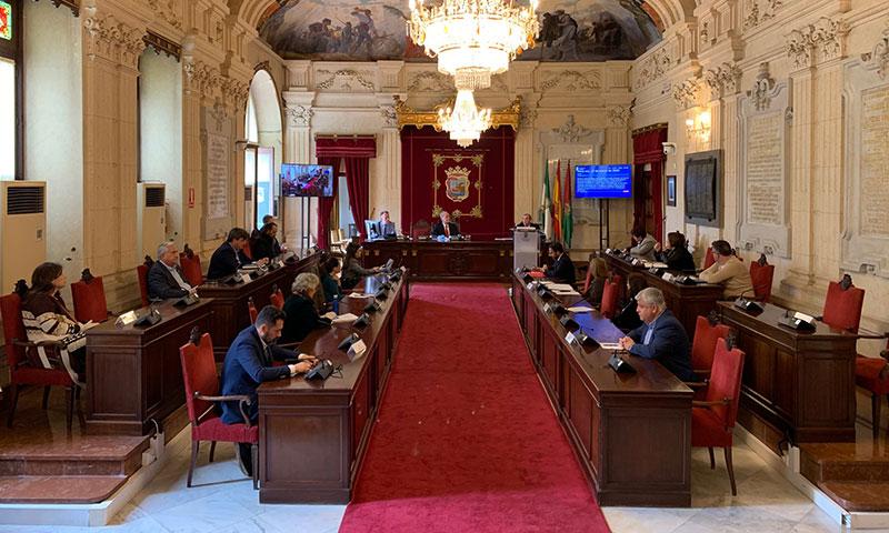 El pleno municipal de Málaga aprueba por unanimidad la nueva empresa municipal de limpieza