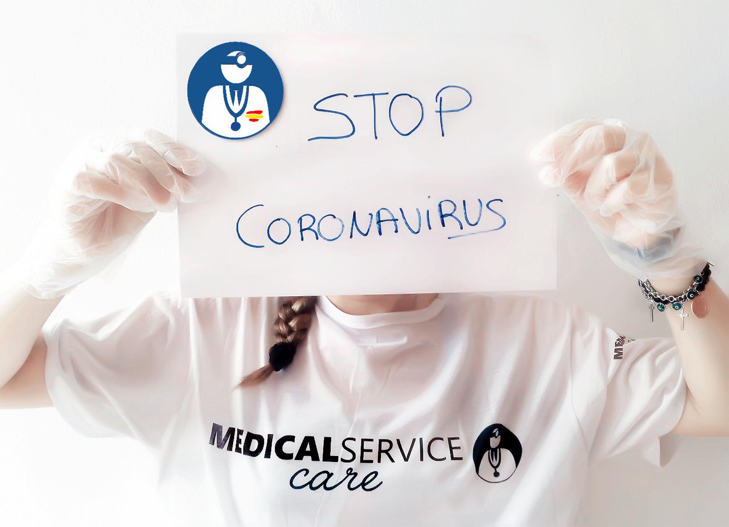 Medical Service Care insiste en la importancia de no salir a la calle por la capacidad de sobrevivir del COVID 19 y por su tiempo de supervivencia.
