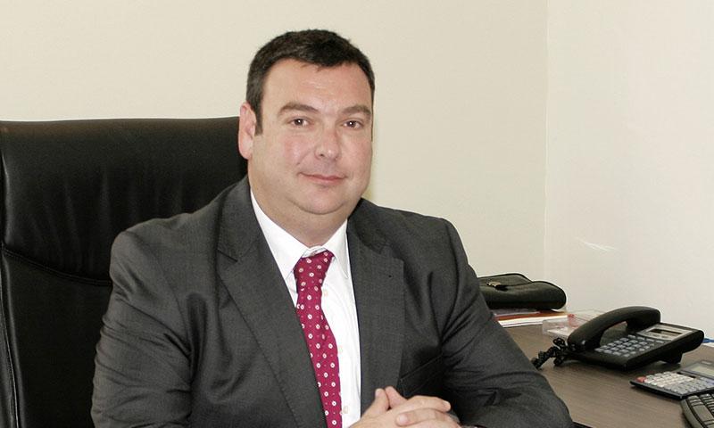 Fernando del Alcázar, jefe del Departamento de Estudios Económicos del Colegio de Economistas de Málaga en la Tertulia del Congreso
