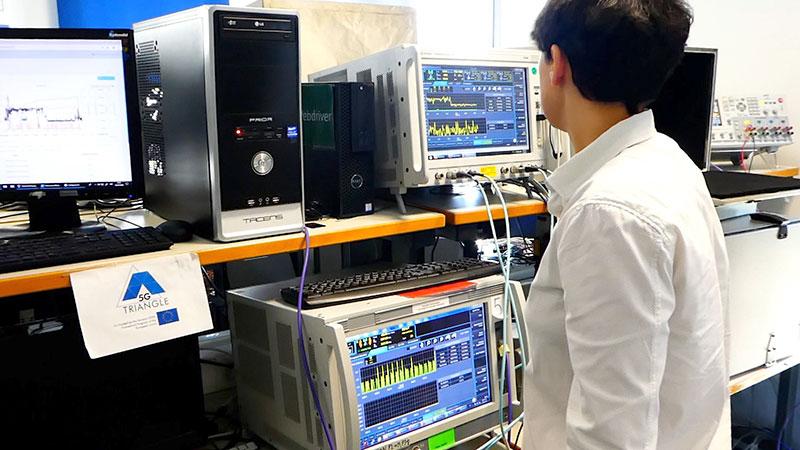 El Instituto de Tecnología e ingeniería de software de la UMA y dispone de una red 5G experimental