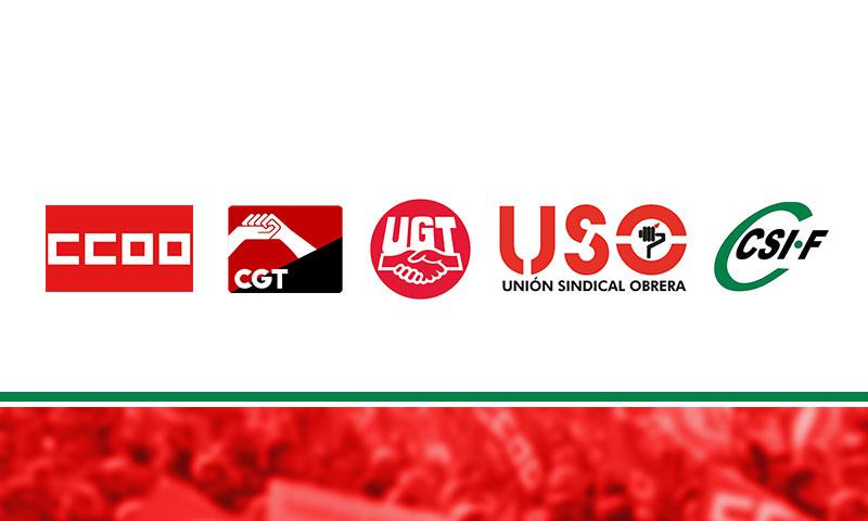 Los cinco sindicatos con mayor representación acuerdan suspender los procesos electorales pendientes como medida preventiva contra el coronavirus