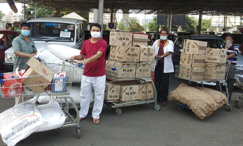El IIMC en la India sigue trabajando duro para ayudar a las familias más afectadas por el confinamiento del Coronavirus