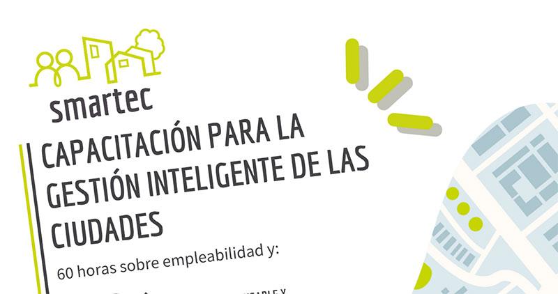 Smartec, un programa formativo orientado a crear ciudades inteligentes y mejorar la empleabilidad