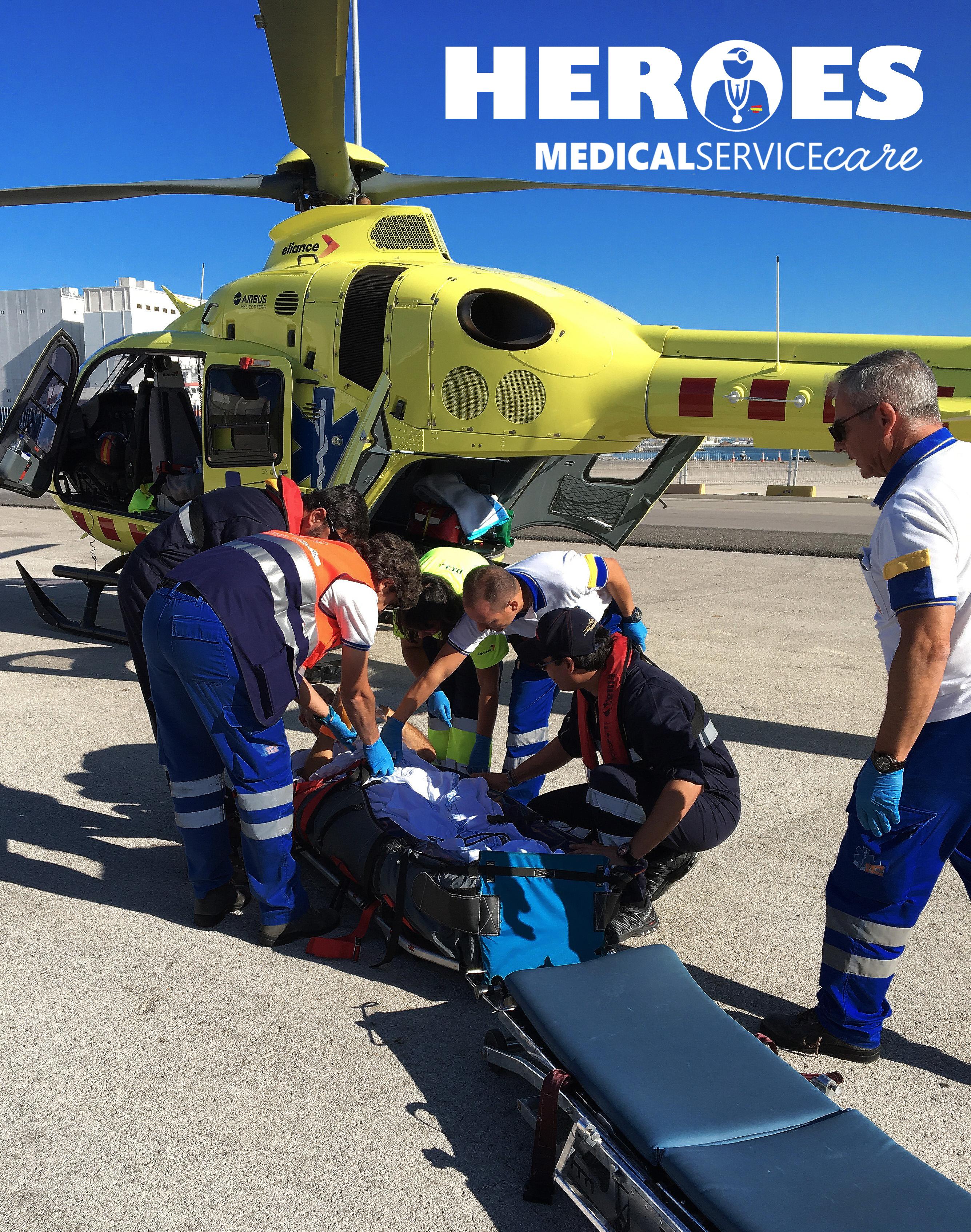 El Grupo Medical Service Care dedica un espacio a sus profesionales sanitarios, «nuestros HÉROES «, como los llaman sus compañeros de la central