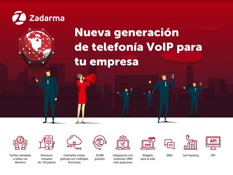 Centralita Virtual y telefonía VozIP