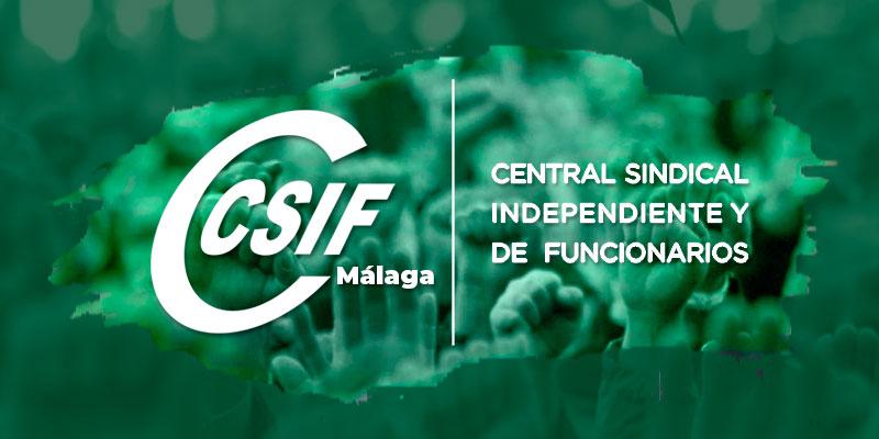 CSIF denuncia que la Junta de Andalucía oculta los listados de la productividad abonada en las nóminas de junio en Málaga