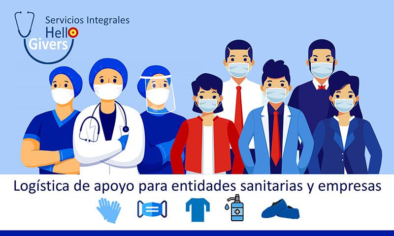 Hello Givers, del Grupo Medical Service, comienza fuerte en el sector de la  logística de apoyo para entidades sanitarias y empresas