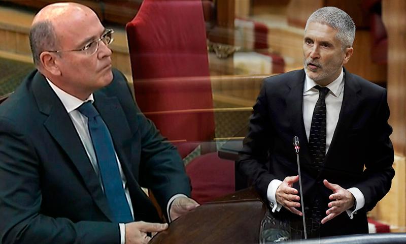 Pérdida de confianza en el ministro del Interior y en el Gobierno