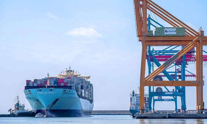 El puerto de Málaga incrementa el tráfico agroalimentario y de contenedores durante el mes de abril