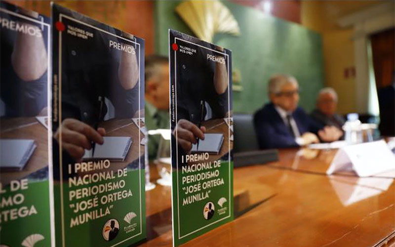 Antonio Esteban gana el 'I Premio Nacional de Periodismo José Ortega Munilla'