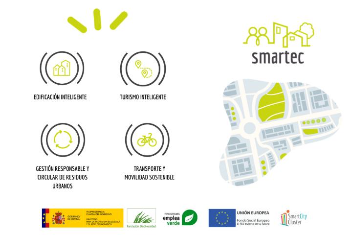 El Clúster Smart City forma a más de un centenar de desempleados en gestión inteligente de ciudades