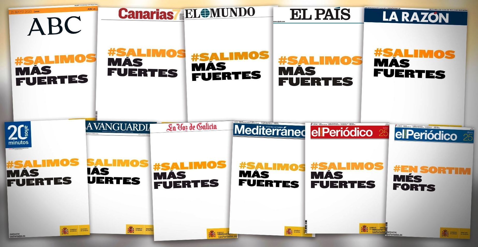 «#SalimosMasFuertes». Emilio Domínguez Díaz. Profesor