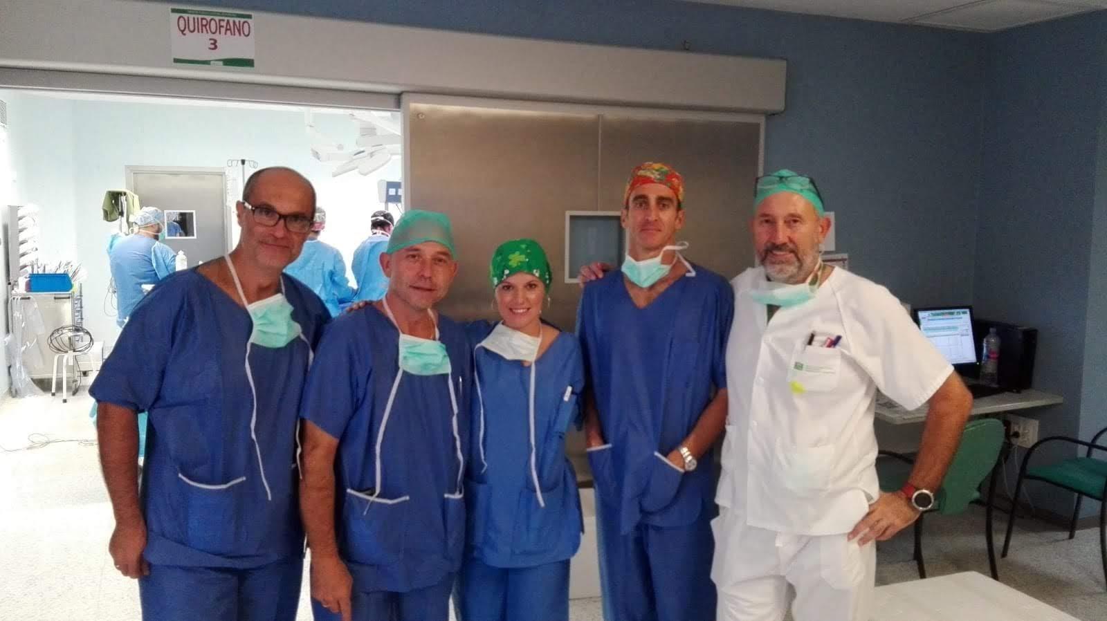 Realizada con éxito en Málaga la primera donación pulmonar de un donante en parada cardio-respiratoria controlada