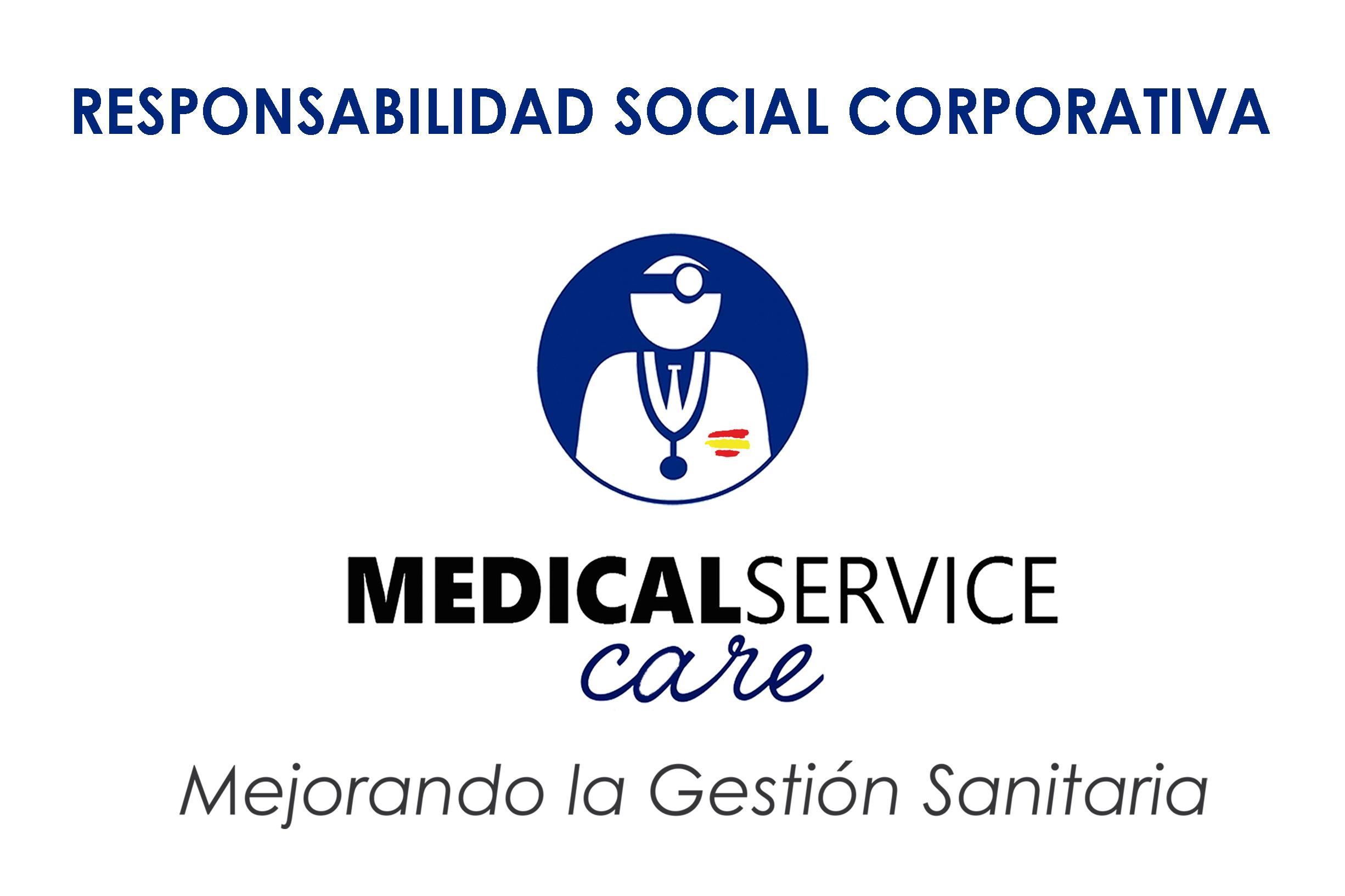 Medical Service Care implicada fuertemente con la Responsabilidad Social Corporativa, a nivel internacional y en España.