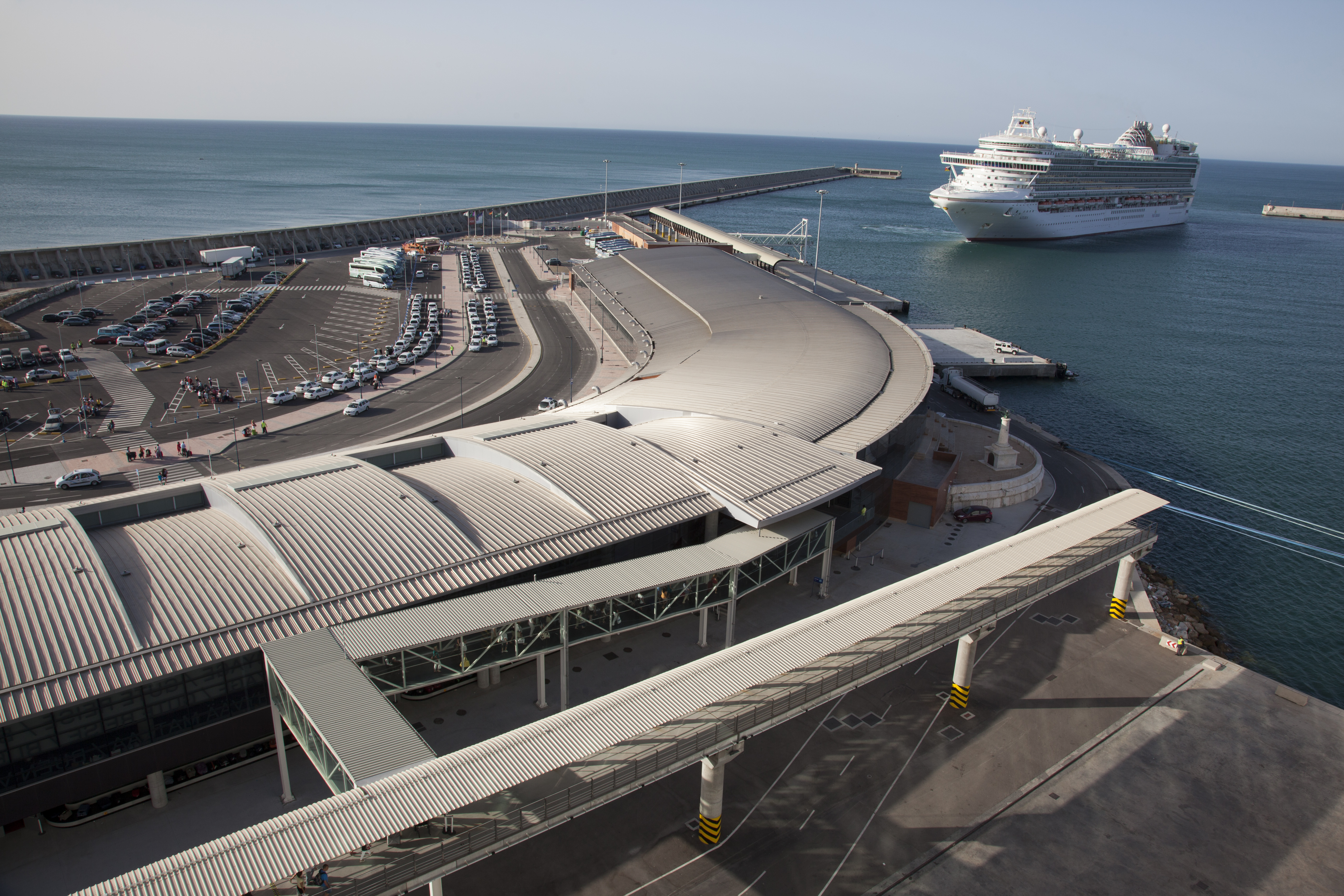 Las terminales de crucero de Málaga Cruise Port se acreditan a nivel internacional con infraestructuras seguras ante el Covid-19