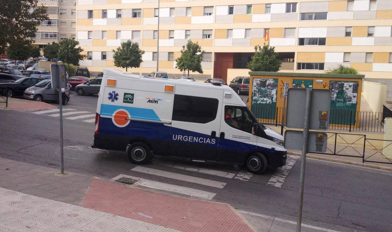 CCOO denuncia el lamentable estado de las ambulancias del distrito sanitario  la Costa del Sol