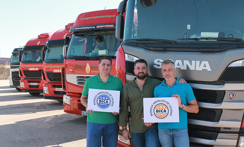 La empresa Garzón Green Energy logra el sello de calidad de la biomasa andaluza BICA
