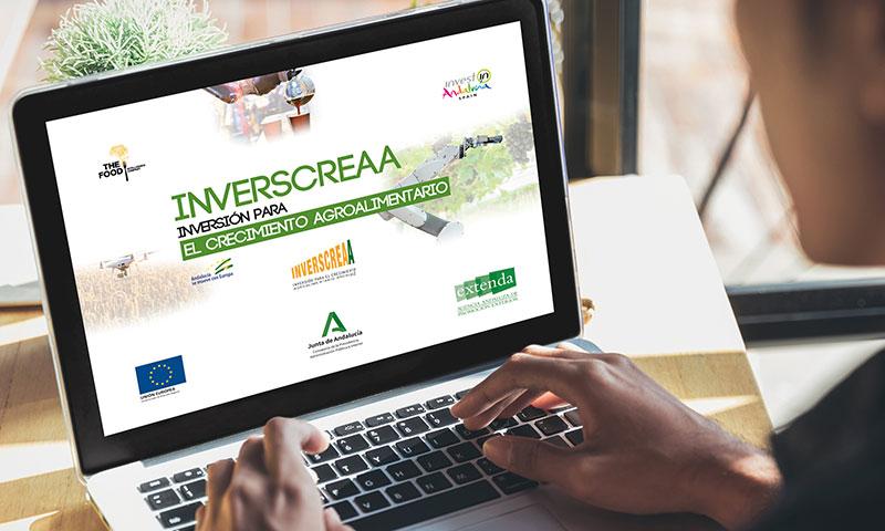 Extenda presenta Inverscreaa, un proyecto piloto para atraer inversiones extranjeras de capital a las firmas agroalimentarias y agrotech andaluzas