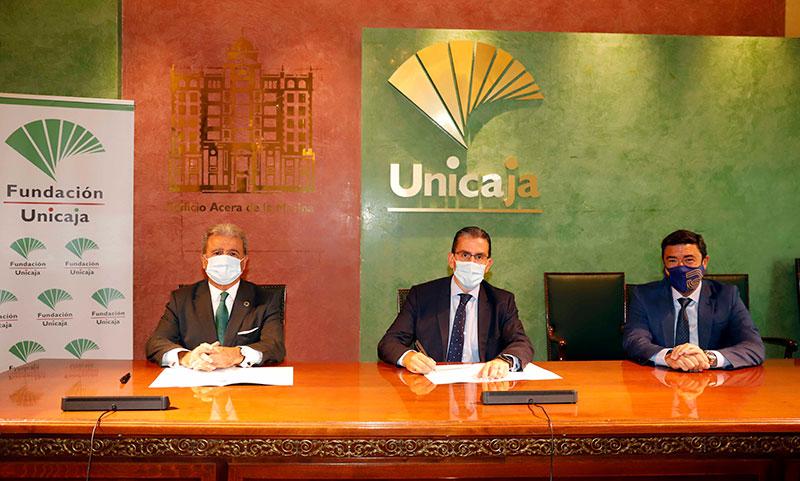 Fundación Unicaja impulsa el Aula de Mecenazgo del Cuerpo Consular en Málaga