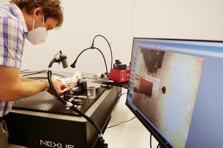 Diseñan un sistema de detección precoz de SARS-CoV-2 basado en sensores fotónicos