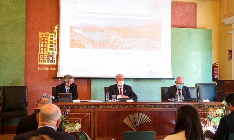 Analistas Económicos de Andalucía elabora un estudio de mercado e impactos económicos de la Expo 2027 Málaga