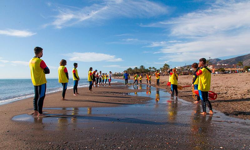 Estudiantes de la Universidad de Málaga crean una empresa de salvamento y socorrismo